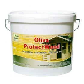 Защитное покрытие для дерева Oliva Protect Wood Акрилит-102 Экстра